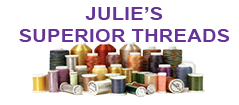 DVD-Patsy Thompson - Julie's Superior Threads - the superior thread for your work